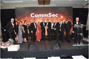 CommSec Wins Fingal Chamber Business Award for Best SME